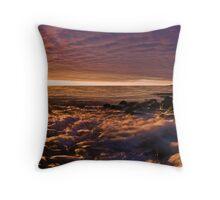 Sunrise panorama Throw Pillow