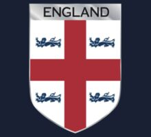 ENGLAND EMBLEM by Joe Bruno