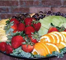 Fruit Tray by Judy Gayle Waller