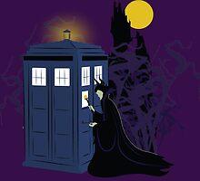 Maleficent and the Tardis   by xxSliverCrownxx