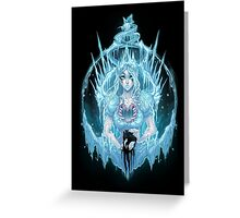 The Ice Queen (full) Greeting Card