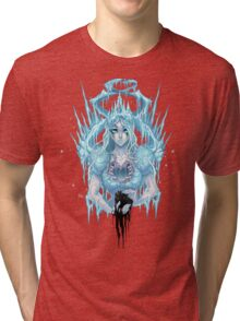 The Ice Queen (white) Tri-blend T-Shirt