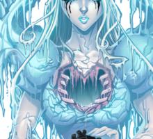 The Ice Queen (white) Sticker