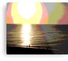 sonic shore Metal Print