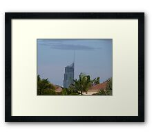 Q1 Building in the Afternoon Sun Framed Print