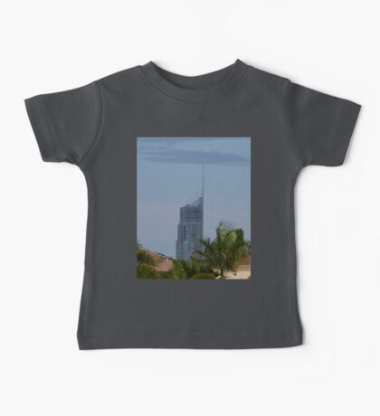 Q1 Building in the Afternoon Sun Baby Tee
