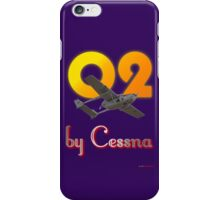 O2 by Cessna iPhone Case/Skin