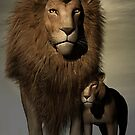 Father & Son by Lisa  Weber