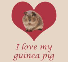 I love my guinea pig by Annika Strömgren