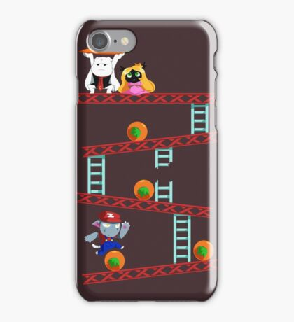 Carrot Kong iPhone Case/Skin