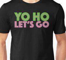 Jake Neverland Pirates Yo Ho Let's Go Unisex T-Shirt