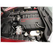 corvette engine Poster