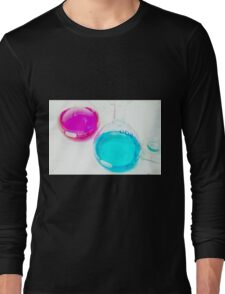 Chemical flasks in Industrial Chemistry Laboratory Long Sleeve T-Shirt