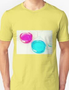 Chemical flasks in Industrial Chemistry Laboratory T-Shirt