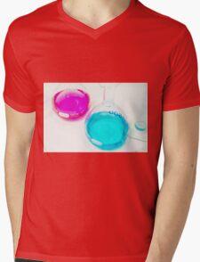 Chemical flasks in Industrial Chemistry Laboratory Mens V-Neck T-Shirt