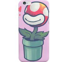 Cute Potted Piranha Plant iPhone Case/Skin