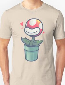 Cute Potted Piranha Plant T-Shirt