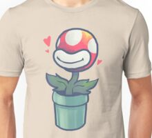 Cute Potted Piranha Plant Unisex T-Shirt