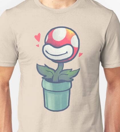 Cute Potted Piranha Plant Unisex T-Shirt