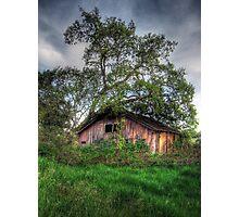 Dilapidated Barn Photographic Print