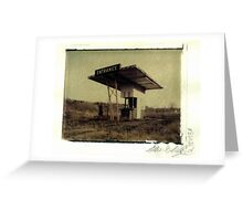 Colonial Drive-In Greeting Card