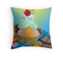 Edible Art Throw Pillow