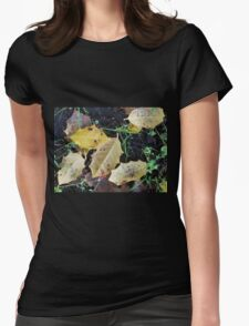 Fall Into Spring Womens Fitted T-Shirt