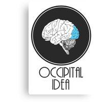 Occipital Idea Canvas Print