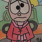 Sammy ACEO trading card cartoon series by Tracey Pearce