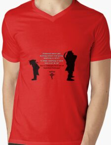 Full Metal Alchemist Equivalent Exchange Quote T-Shirt