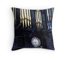 Cathedral organ Throw Pillow