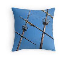 masts Throw Pillow