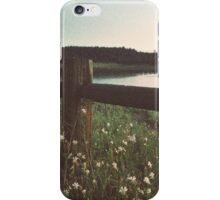 Dusk Meadows iPhone Case/Skin