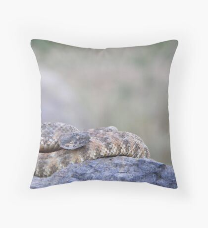 A Speckled In Situ Throw Pillow