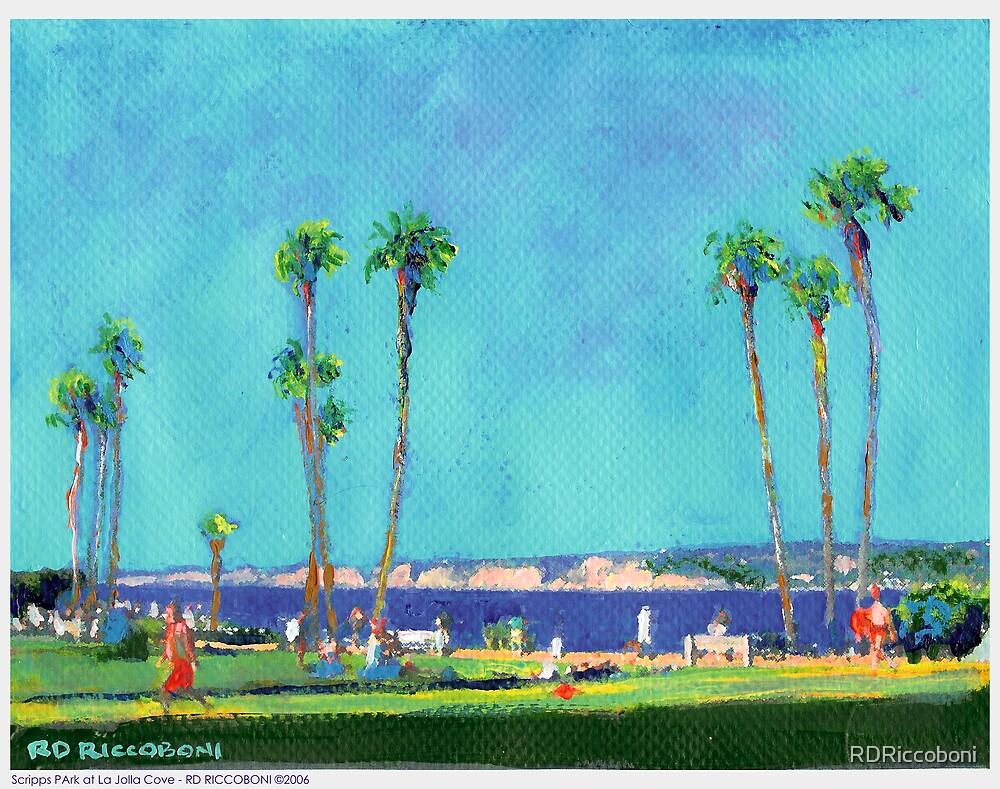 Scripps Park at La Jolla Cove by RDRiccoboni