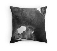 Natural Bridge, Death Valley Throw Pillow