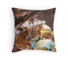 Artist Palette, Death Valley Throw Pillow
