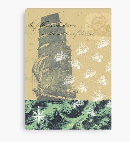 Sound of the Sea Canvas Print