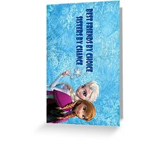 Frozen Sisters Forever Greeting Card