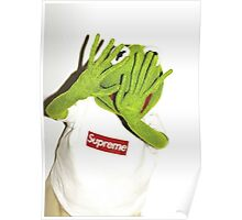 Kermit for Supreme Media Cases, Pillows, and More. Poster