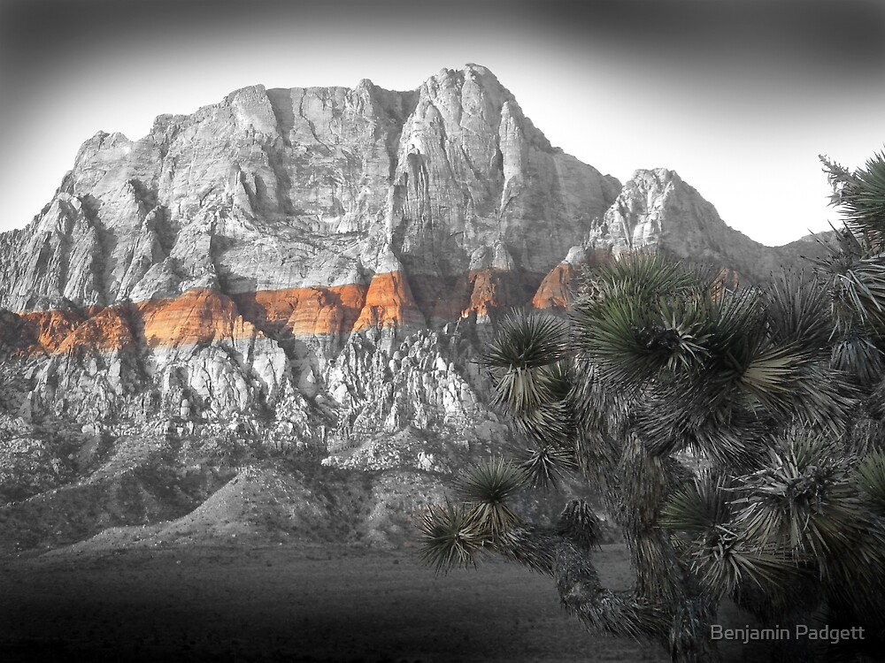 Mt. Wilson No. 2, Red Rock Canyon by Benjamin Padgett