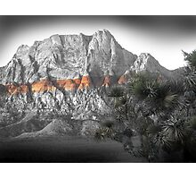 Mt. Wilson No. 2, Red Rock Canyon Photographic Print