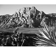 Mt. Wilson No. 1, Red Rock Canyon Photographic Print