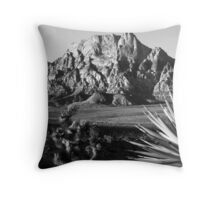 Mt. Wilson No. 1, Red Rock Canyon Throw Pillow