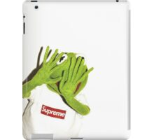 Kermit for Supreme Media Cases, Pillows, and More. iPad Case/Skin