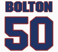 National baseball player Tom Bolton jersey 50 by imsport