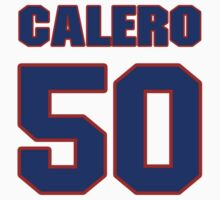 National baseball player Kiko Calero jersey 50 by imsport