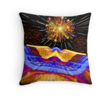 A Light Journey Throw Pillow