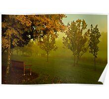 April mist Poster