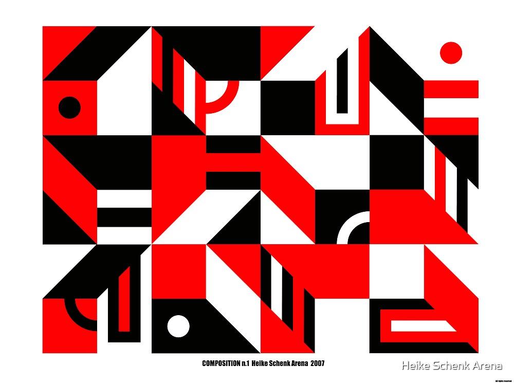 Composition n.1 by Heike Schenk Arena